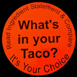 What's in Your Taco